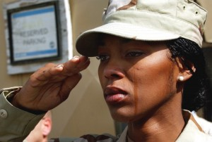 USAF SSgt Alicia Watkins Talks About the Needs of Returning Soldiers! Womens Conference 2010