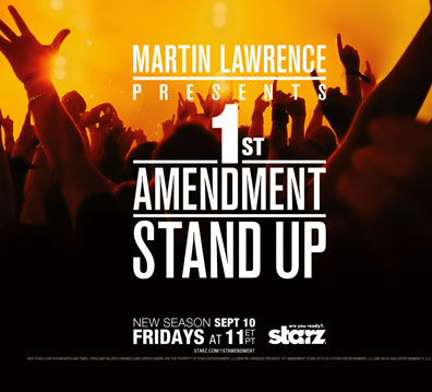 Sandra Berhardt Hits Martin Lawrence 1st Amendment Stand-Up on Starz!! Podcast!