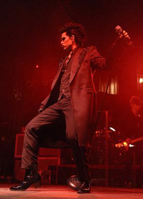 Adam Lambert Live in Concert. Glam Nation Summer 2010 Tour: Pacific Amphitheater, Costa Mesa, CA