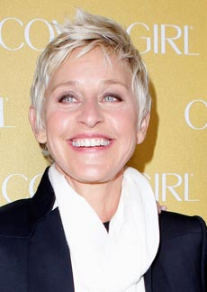 Celebrity Style Spotting: Ellen DeGeneres Gets Glam for CoverGirl's 50th Anniversary Party!