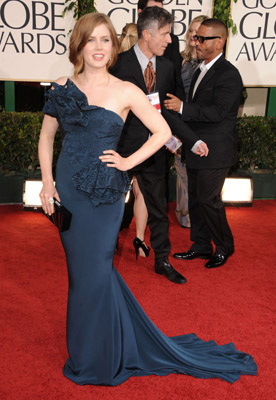 Amy Adams & Anne Hathaway Hit Golden Globes Celebrity Style Slam #6