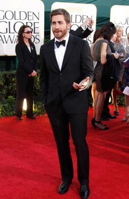Jake Gyllenhaal & Johnny Depp Hit Golden Globes 2011 Celebrity Style Slam #2