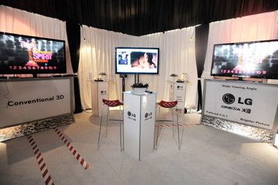 Independent Spirit Awards Goes 3D at  LG Cinema 3D HDTV Gift Lounge!