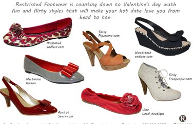 Valentine's Day Gifting or Fashion:  If the Shoe Fits, Go Restricted!!